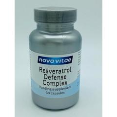 Nova Vitae Resveratrol 100 mg defense complex (60 capsules)