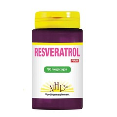 NHP Resveratrol 250 mg puur (30 vcaps)