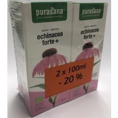 Purasana Echinacea forte+ promo pack bio (200 ml)