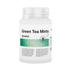 Nutriphyt Green tea mints (120 tabletten)