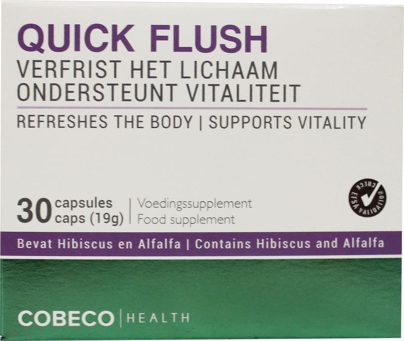 Cobeco Health Quick flush (30 capsules)