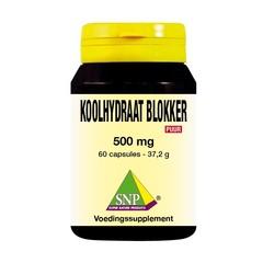 SNP Koolhydraat blokker 500 mg puur (60 capsules)