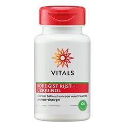 Vitals Rode gist rijst + ubiquinol (60 capsules)