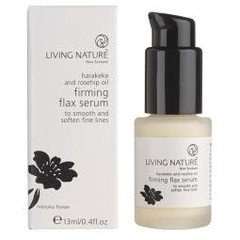 Living Nature Flax serum oogcreme (13 ml)