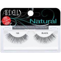Ardell Kunstwimpers natural 105 zwart (2 stuks)
