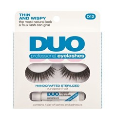 DUO Kunstwimpers professional eyelash kit 12 (1 paar)