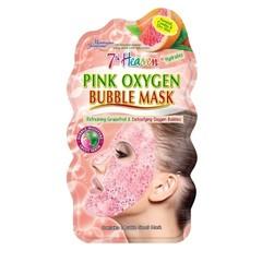 Montagne 7th Heaven face mask pink oxygen (1 stuks)