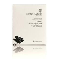 Living Nature Klei masker diep reinigend (50 ml)