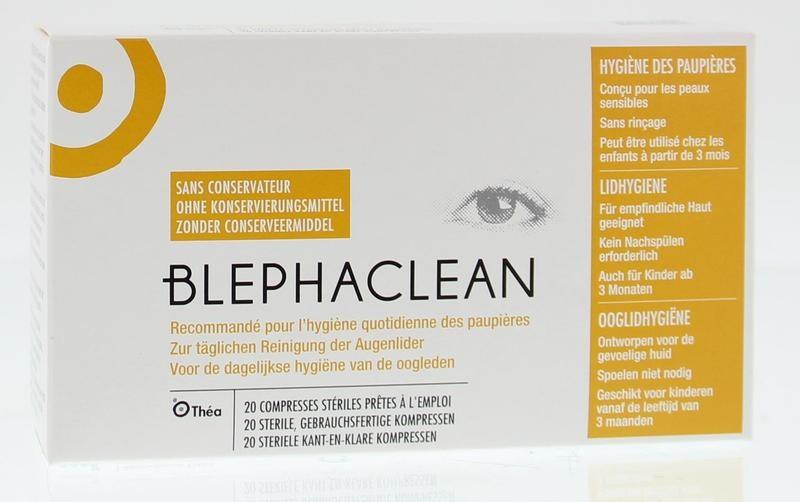 Blephaclean Blephaclean Kompressen (20 stuks)
