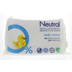 Neutral Baby doekjes (63 stuks)