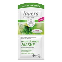 Lavera Masker/mask purifying mint (10 ml)