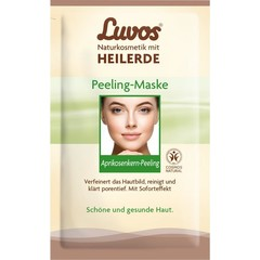 Luvos Crememasker soft peel 7.5 ml (2 stuks)