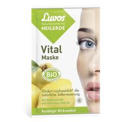 Luvos Crememasker vital 7.5 ml (2 stuks)