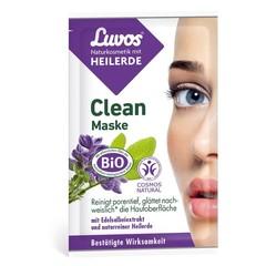 Luvos Crememasker clean 7.5 ml (2 stuks)