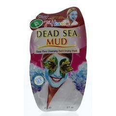 Montagne 7th Heaven gezichtsmasker dead sea mud pac (20 gram)