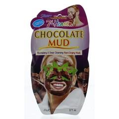 Montagne 7th Heaven gezichtsmasker chocolate mud (20 gram)