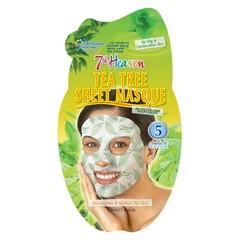 Montagne 7th Heaven gezichtsmasker tea tree sheet (16 gram)