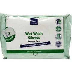 Abena Wet wash washandjes verzorgend (8 stuks)