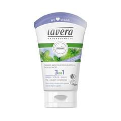 Lavera Was scrub masker/wash scrub mask 3 in 1 (125 ml)