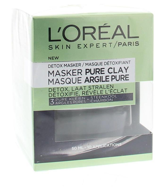 Loreal Pure clay masker detox (50 ml)
