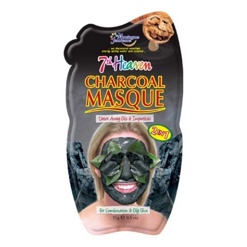 Montagne 7th Heaven gezichtsmasker charcoal (10 ml)