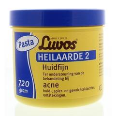Luvos Heilaarde 2 huidfijn pasta (720 gram)