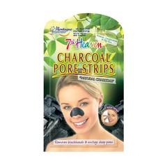 Montagne 7th Heaven gezichtsmasker charcoal pore strips (3 stuks)