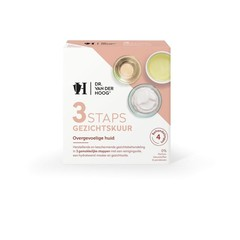 Dr Vd Hoog 3Staps Gezichtskuur overgevoelige huid (3 stuks)