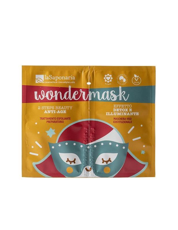 La Saponaria La Saponaria Gezichtsmasker wondermasker 8 ml + 5 ml 2 staps (1 set)