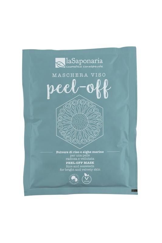 La Saponaria La Saponaria Gezichtsmasker bio peel off alle huidtypen (30 gram)