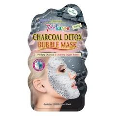 Montagne 7th Heaven face mask charcoal detox bubble sheet ()