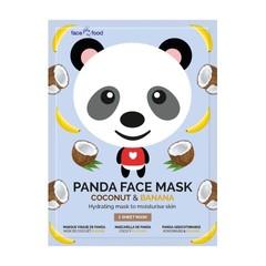 Montagne Panda sheet face mask coconut & banana (1 stuks)