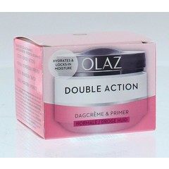 Olaz Double action dagcreme normale/droge huid (50 ml)