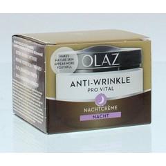 Olaz Provital nachtcreme anti-rimpel (50 ml)