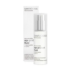 Santaverde Aloe vera age protect fluid tinted SPF6 bio (30 ml)