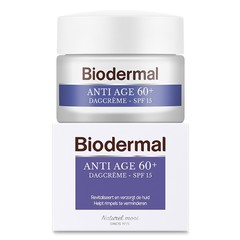 Biodermal Dagcreme anti age 60+ (50 ml)