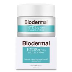 Biodermal Gelcreme dag hydraplus vochtarme huid (50 ml)