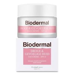 Biodermal Dagcreme droge en gevoelige huid (50 ml)
