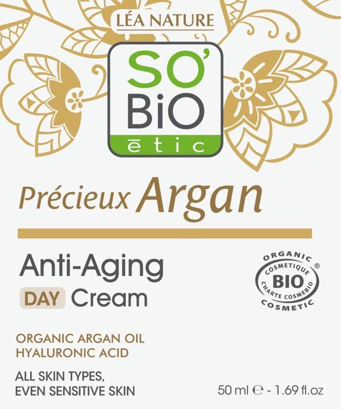 So Bio Etic So Bio Etic Argan anti age daycream (50 ml)