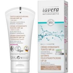 Lavera Getinte dagcreme/moisturising cream light F-D (50 ml)