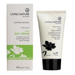 Living Nature Dagcreme rijk (50 ml)