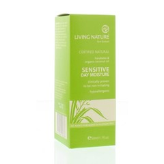 Living Nature Dagcreme gevoelige huid (50 ml)