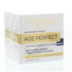 Loreal Age perfect nachtcreme (50 ml)