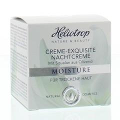 Heliotrop Moisture exquisite nachtcreme (50 ml)
