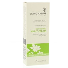 Living Nature Nachtcreme voedend (50 ml)