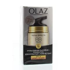 Olaz Total effects BB cream dagcreme lichte tint (50 ml)