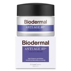 Biodermal Nachtcreme anti age 40+ (50 ml)