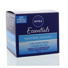 Nivea Essentials nachtcreme normale/gemengde huid (50 ml)
