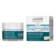 Lavera Basis Sensitiv nachtcreme/night cream Q10 F-NL (50 ml)