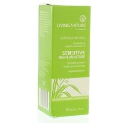Living Nature Nachtcreme gevoelige huid (50 ml)